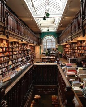 Daunt Books upstairs