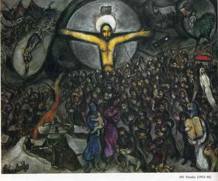 Marc Chagall: THE EXODUS (1966)