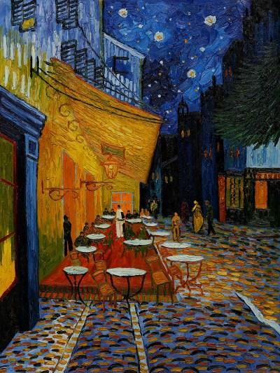 van Gogh - Cafe Terrace in Arles