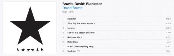 Bowie - Blackstar tracklist.png
