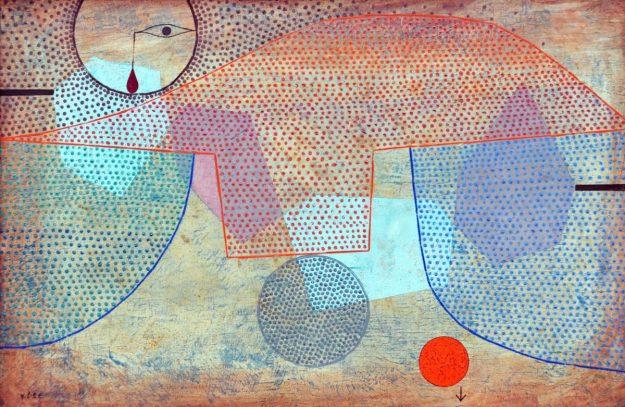 Paul Klee Sunset, 1930. Art Inst. Chicago.JPG