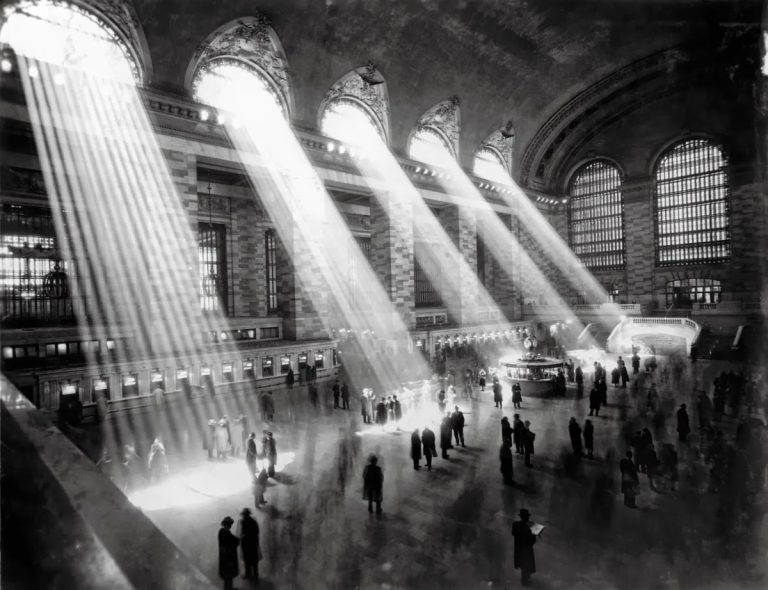 Q Combinations 16: Brassaï's Grand Central and Emily Pfeiffer's Blind Architect
