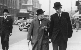 When Lord Halifax got packed off to Washington in 1940