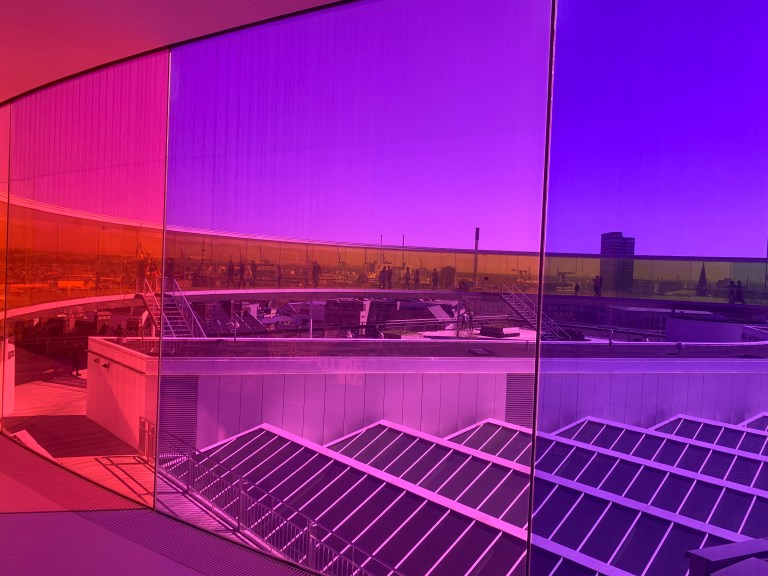 Tripping out in Aarhus: Olafur Eliasson's astonishing RAINBOW PANORAMA