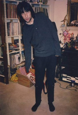 Bobby Gillespie models Mark Moore/Sid Vicious' bondage trousers