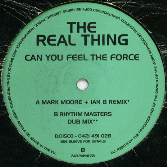 Can You Feel The Force Remix