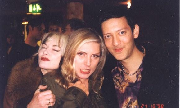 Mark Moore, Pam Hogg, Debbie Harry