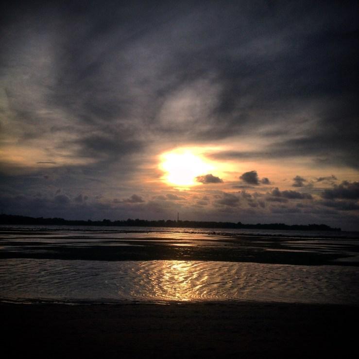 Sunset Gilli Islands
