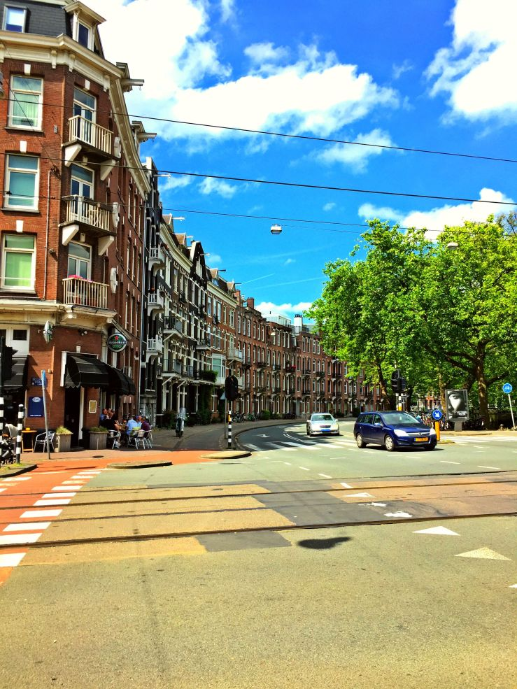 Amsterdam Streets Mark My Adventure