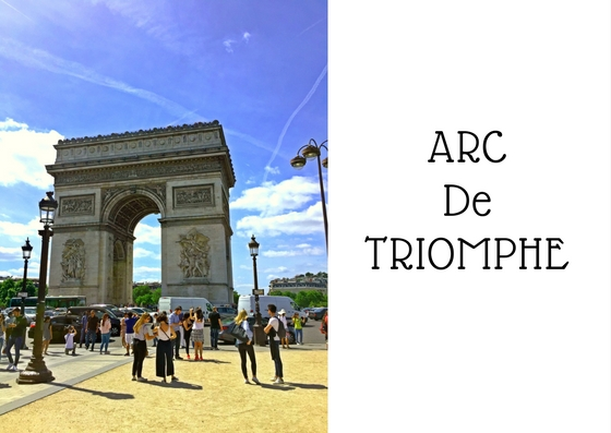 Arc De Triomphe Mark My Adventure
