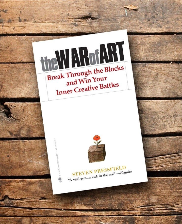 The War Of Art Mark My Adventure