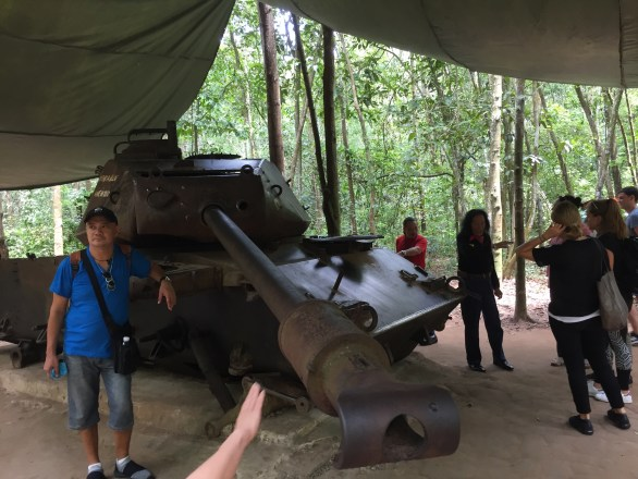 Cu Chi Tunnels Mark My Adventure