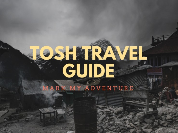 Tosh Travel Guide Mark My Adventure