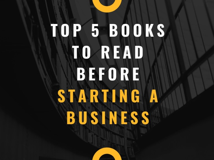 Top 5 Books To Read Before Starting A Business Mark My Adventure