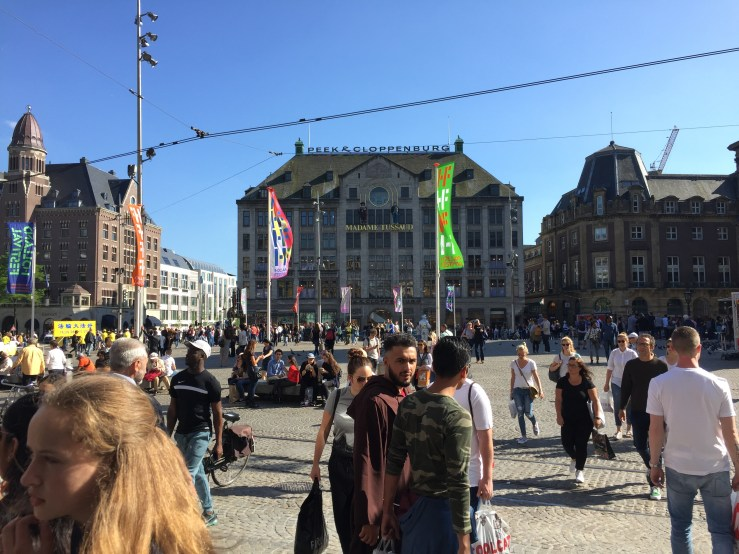 Amsterdam Central Mark My Adventure