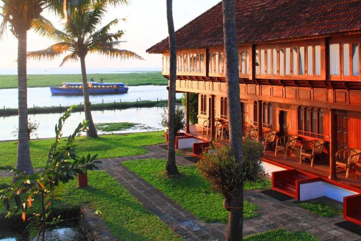 The Coconut Lagoon Luxury Hotel In India