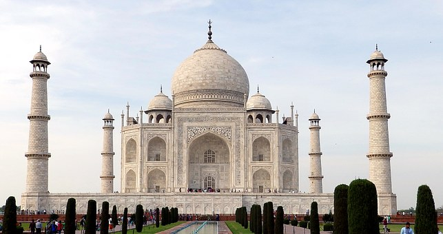 Taj Mahal India Mark My Adventure