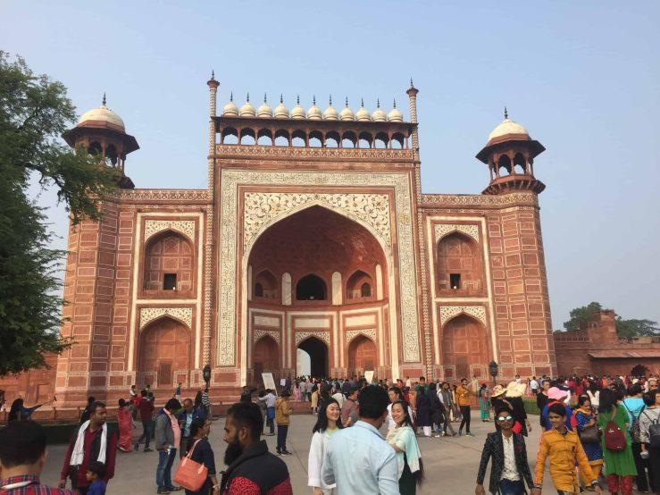 Mosque Taj Mahal Mark My Adventure