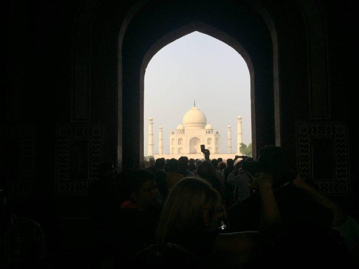 Exit Gate Taj Mahal Mark My Adventure