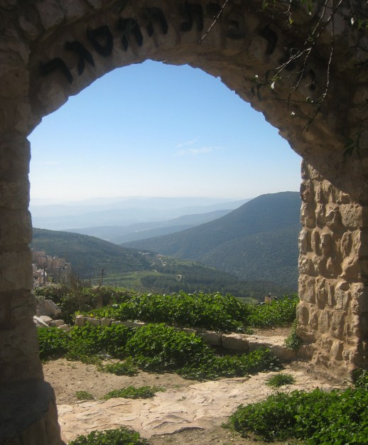 Mark Naseck's Favorite view from Tzfat (Safed), Israel