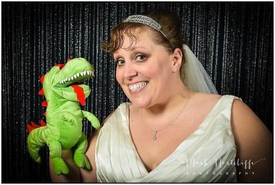 Bridezilla puppet