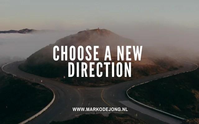 Life-coaching kies een nieuwe richting coach Marko de Jong