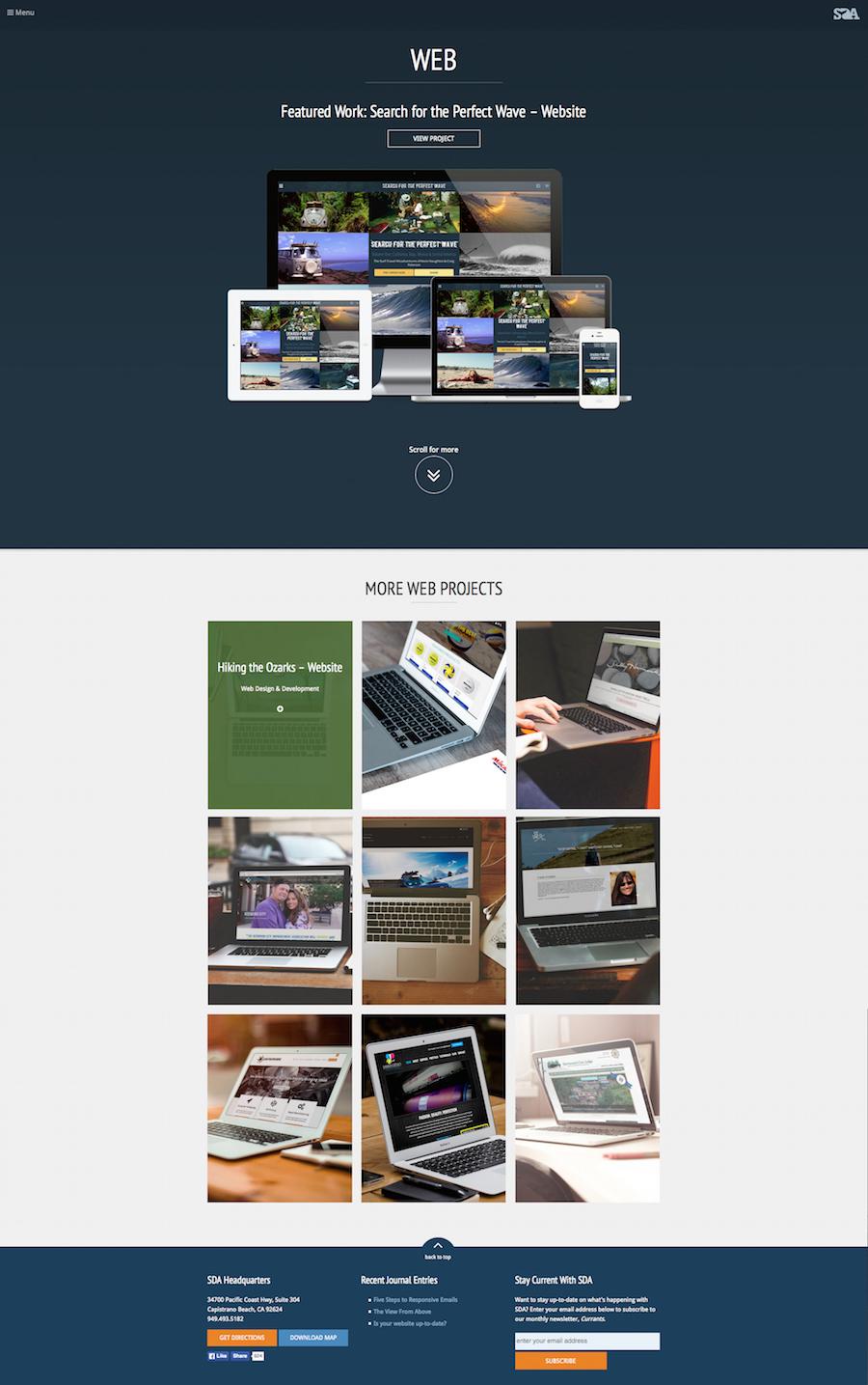 SDA Creative - Portfolio Archive