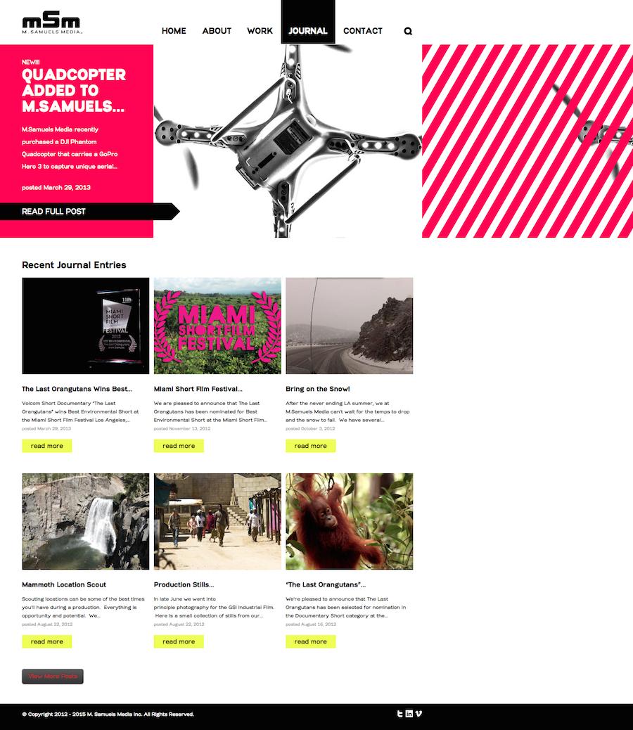 M. Samuels Media Inc. - blog