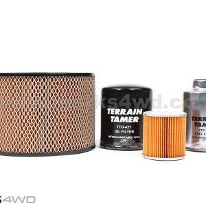 Terrain Tamer Filter Kit Toyota LandCruiser HZJ71, HZJ73, HDJ78,79