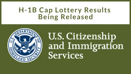 H-1B Cap Lottery Results FY2021