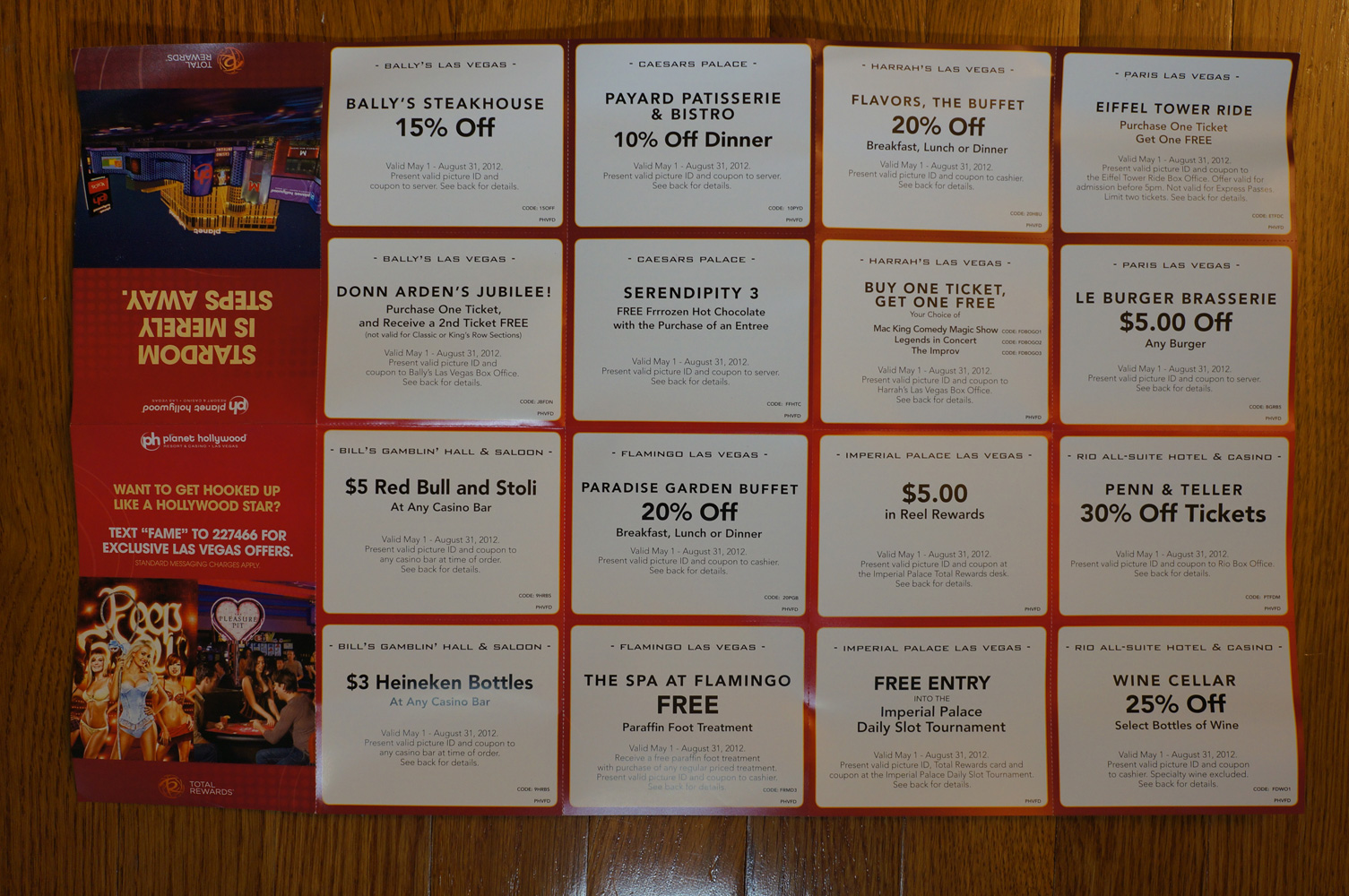 Hotel coupon codes