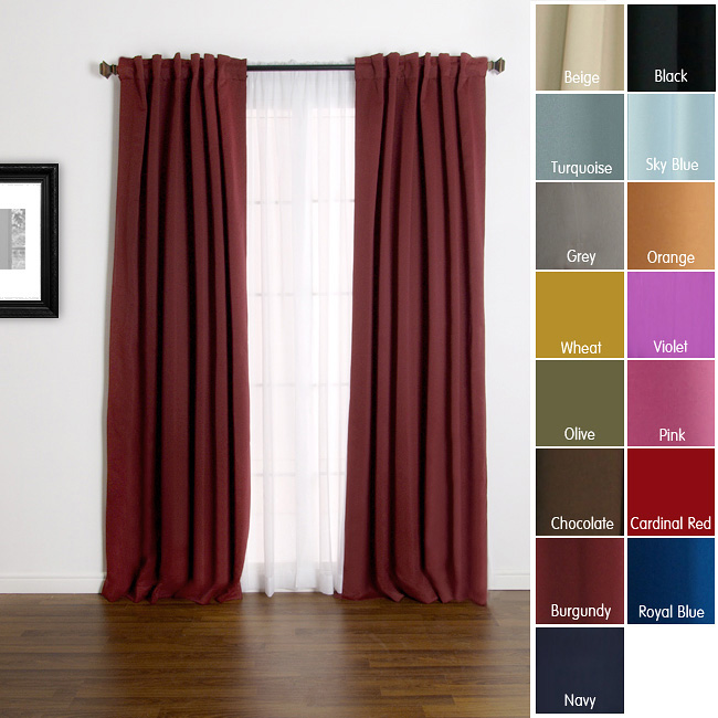Curtains Heat Blocking Decorate The House With Beautiful