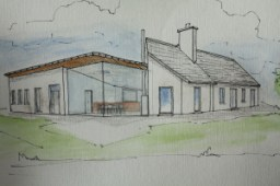 Rural house in Mayo