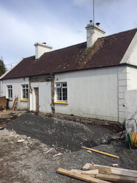 Cottage,extension,double,pitch,county,mayo