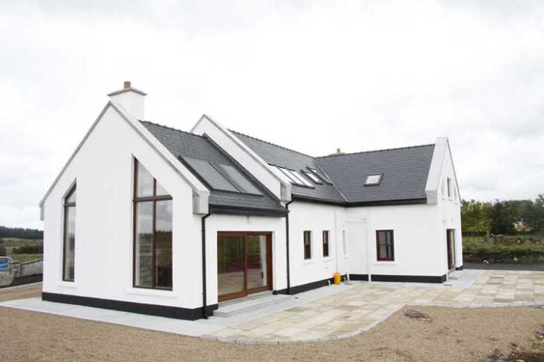 A New house, a restoration and a garage - County Mayo