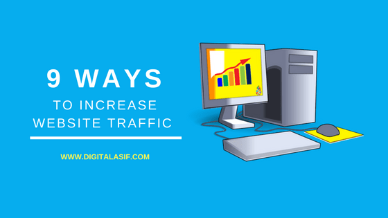 9 Ways to Increase Website Traffic