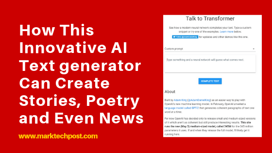 How This Innovative AI Text generator Can Create Stories, Poetry and