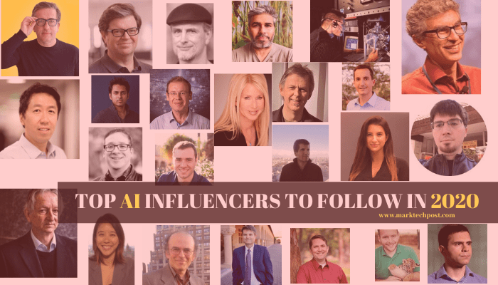 Top Artificial Intelligence Influencers To Follow in 2020