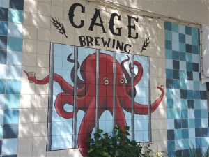Cage Brewery near Tropicana Field in St. Petersburg