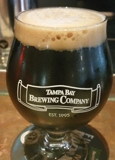 Iron Rat Imperial Stout at Tampa Bay Brewing Company in Centro Ybor