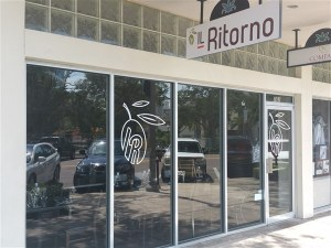 Front entrrance at Il Ritorno Restaurant in St. Petersburg, Florida