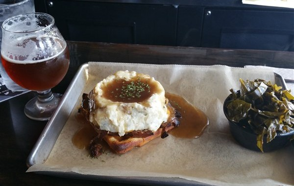 Urban Brew and BBQ in St. Pete daily special called The Monster