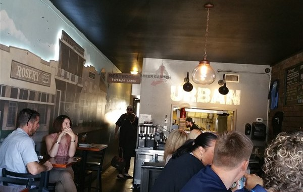 Urban Brew and BBQ in St.Pete is a great craft beer bar and restaurant to grab a lunch and a beer