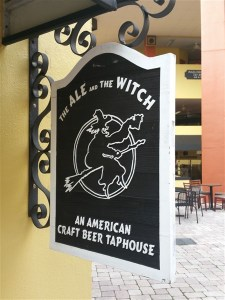 The Ale and the Witch is the best craft beer bar in downtown St. Pete, FL