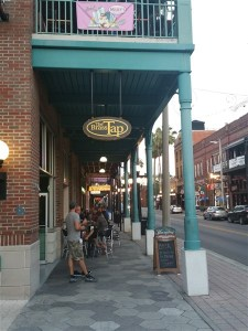 The Brass Tap in Centro Ybor in Tampa, FL