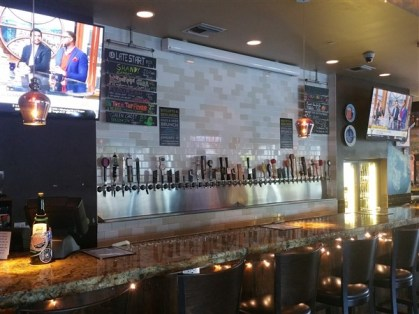 The bar at the Pour House in downtown Tampa