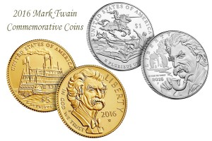 Mark Twain Commemorative Coin Set