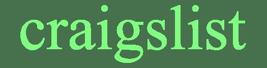 craigslist logo green