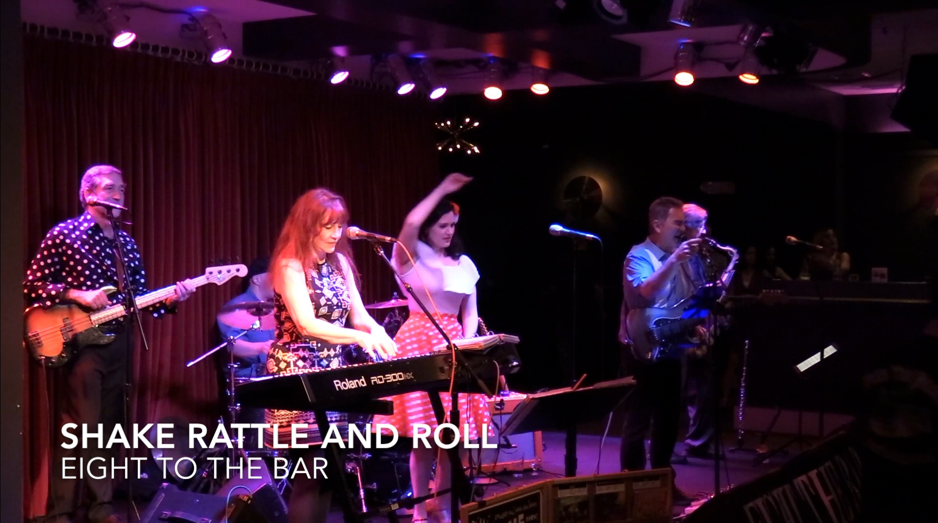 Shake Rattle and Roll, Eight To The Bar, 5-18-18