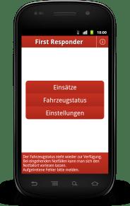 Der Startbildschirm: Text statt Grafiken